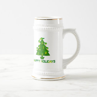 Alien Holiday Tree Mug