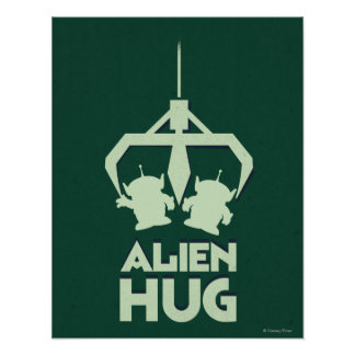 Alien Hug Poster
