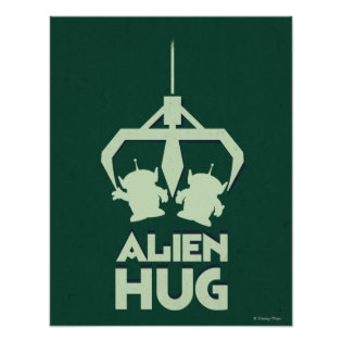 Alien Hug Print