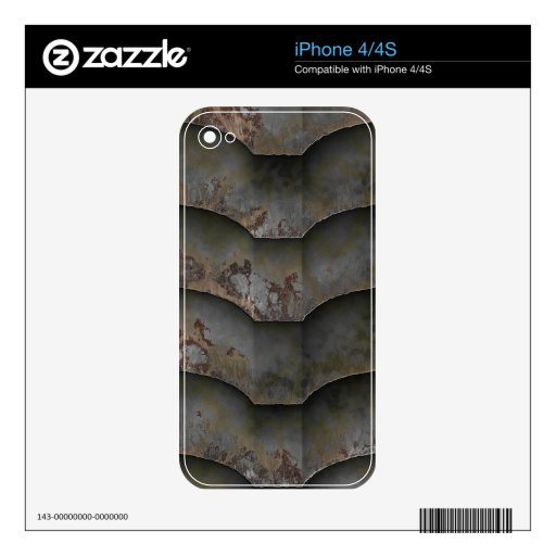Alien Hull Plate iPhone 4 iPhone 4 Decal
