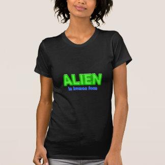 ALIEN Human Form Halloween Costume Design T Shirt
