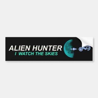 Alien Hunter Bumper Sticker Car Bumper Sticker