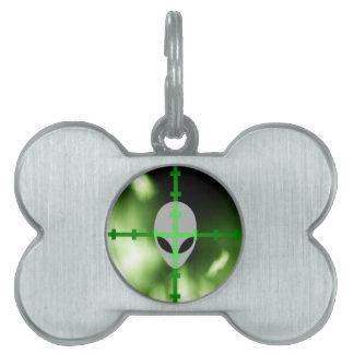 Alien Hunter Pet ID Tags