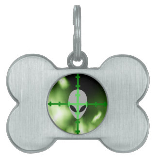 Alien Hunter Pet Name Tag
