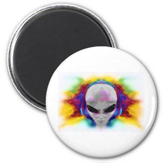 alien hybrid 2 inch round magnet