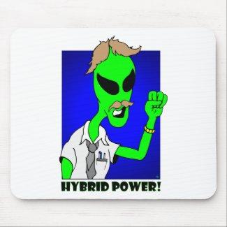 alien hybrid power mousepad