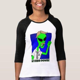 alien hybrid power shirt