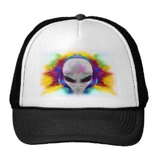 alien hybrid trucker hat