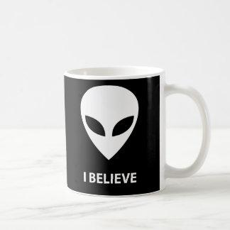 ALIEN I Believe Mug