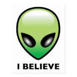 Alien: I Believe Postcard
