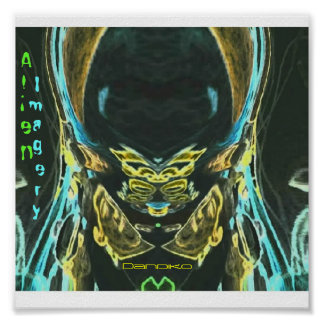 Alien Imagery Poster