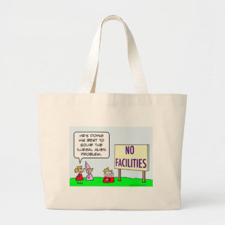 alien immigration illegal king no facilities canvas bags