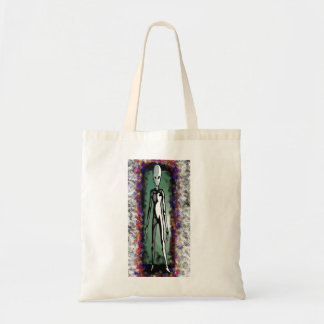 ALIEN in a portal Budget Tote Bag