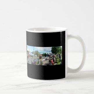 alien in the crowd coffee mug