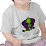Alien Invader 4th Birthday Gifts T-shirt