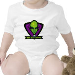 Alien Invader 4th Birthday Gifts Tee Shirt