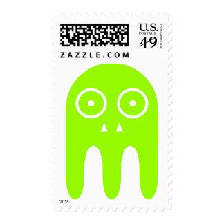 Alien Invader Postage Stamps