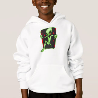 Alien Invades Your Home Hoodie