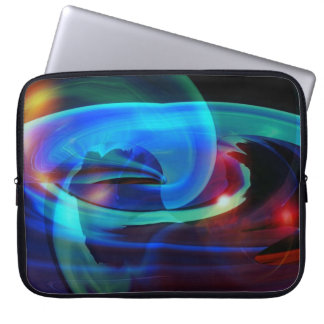 Alien Invasion Abstract Laptop Sleeve