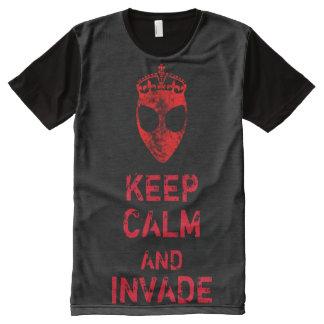 Alien Invasion All-Over Print Shirt