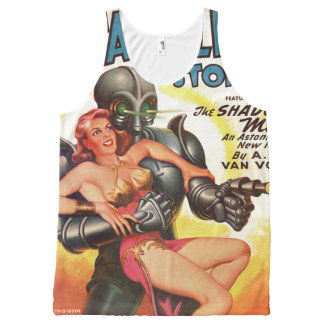 Alien invasion All-Over-Print tank top