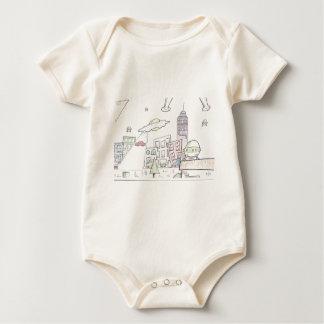 Alien Invasion Baby Bodysuit