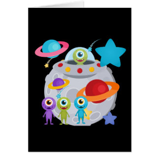 Alien Invasion Card