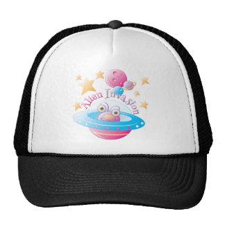 Alien Invasion for Girls 4 Trucker Hat