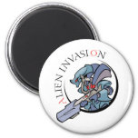 Alien Invasion Magnet