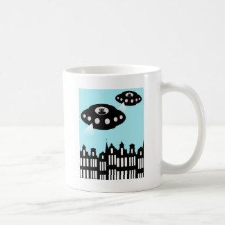 Alien invasion of Amsterdam Coffee Mug