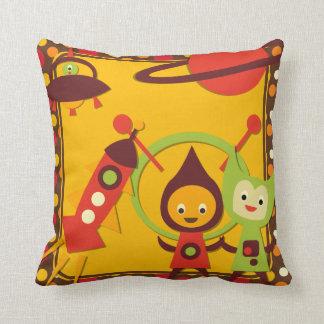 Alien Invasion Pillow