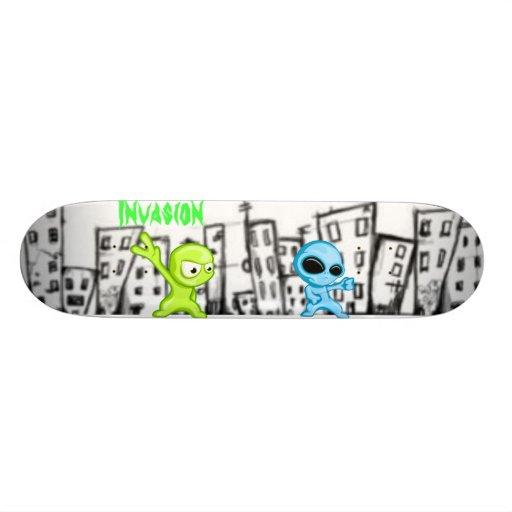 Alien Invasion Skateboard Decks