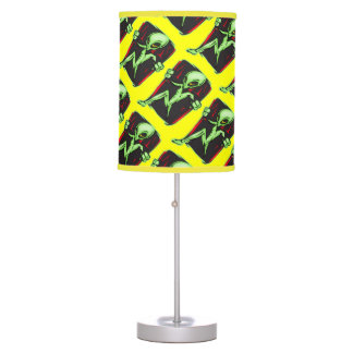 Alien Invasion Table Lamp