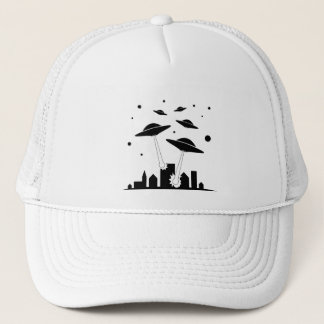 Alien Invasion Trucker Hat