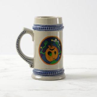 Alien Jack-O-Lantern Steins Mug