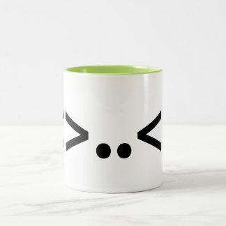 ALIEN Japanese Emoticon Coffee Mug
