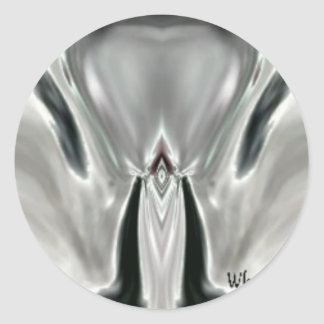 Alien.jpg Classic Round Sticker