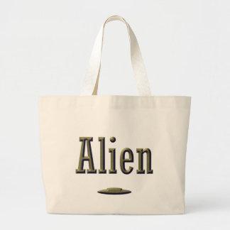 Alien Jumbo Tote Bag
