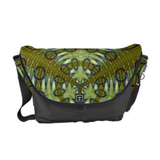 Alien Jungle Messenger Bag