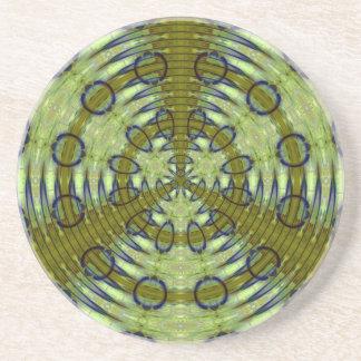 Alien Jungle Sandstone Coaster