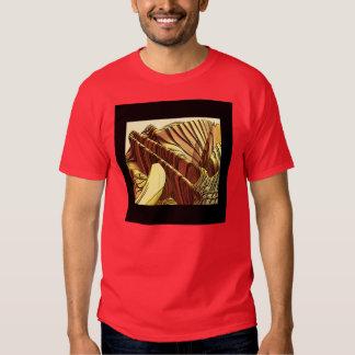 Alien junk landscape t-shirt