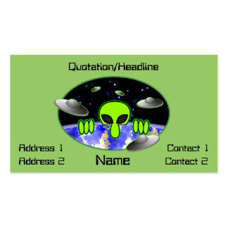 Alien Kilroy Business Card