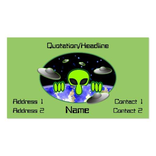 Alien Kilroy Business Card