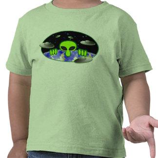 Alien Kilroy Toddler T-Shirt