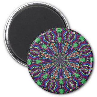 Alien Kollideascope Fridge Magnets