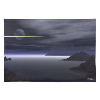 Alien Lake Cloth Placemat