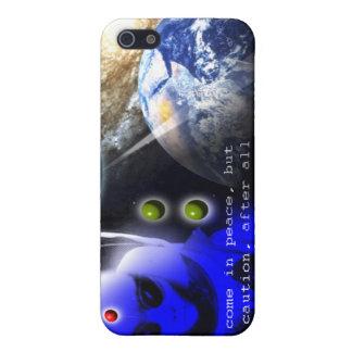 alien landing iPhone 5/5S covers