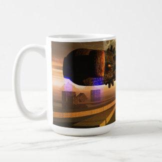 Alien Landscape Coffee Mug