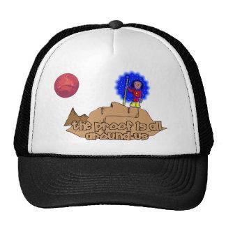 Alien Landscape Hats