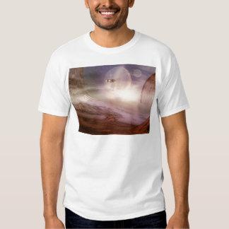 alien landscape t shirt